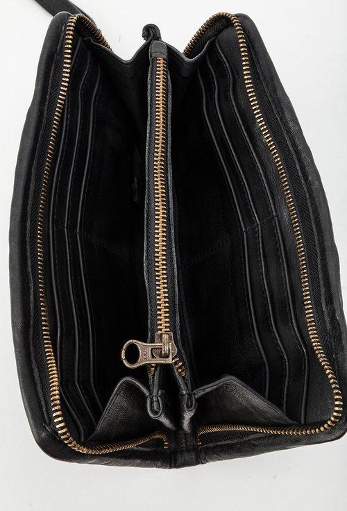 Portofel negru din piele naturala 145017