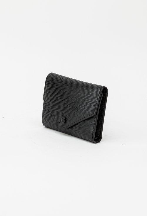 Portofel negru din piele naturala 145045