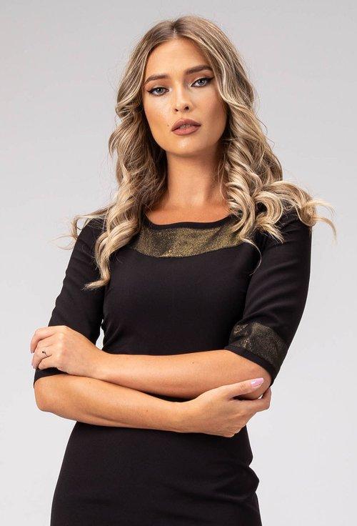 Rochie neagra Agata