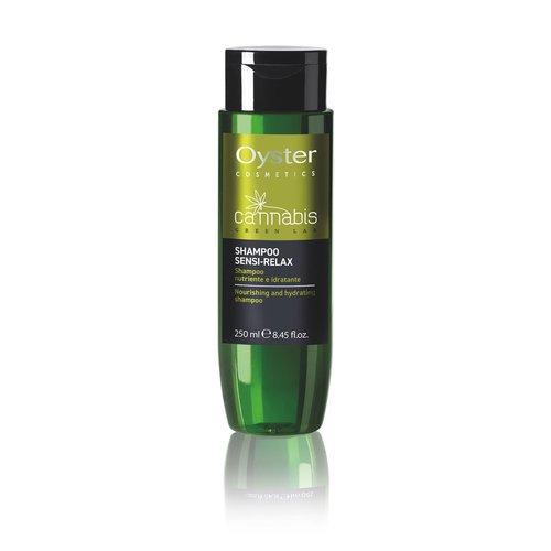 Sampon pentru hidratare si stralucire- Oyster Cannabis Green Lab Shampoo Sensi-Relax 250 ml