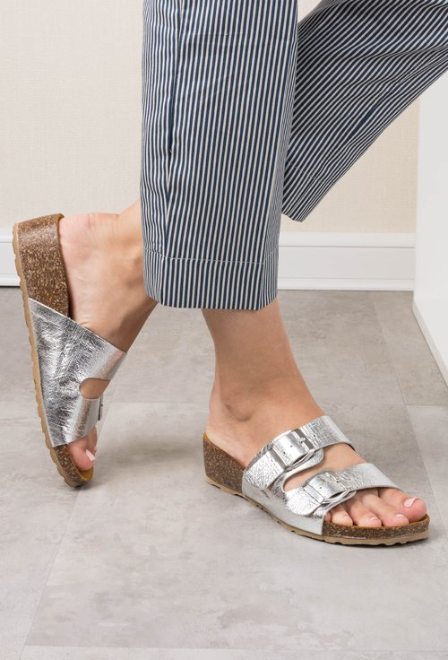 Sandale argintii Leila