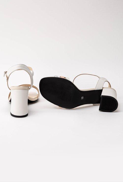 Sandale din piele naturala cu barete subtiri Glory