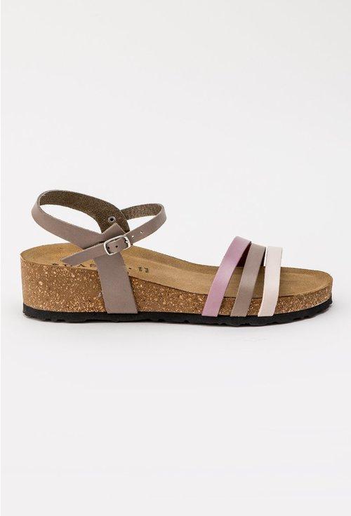 Sandale in nuante de mov din piele naturala Mathew