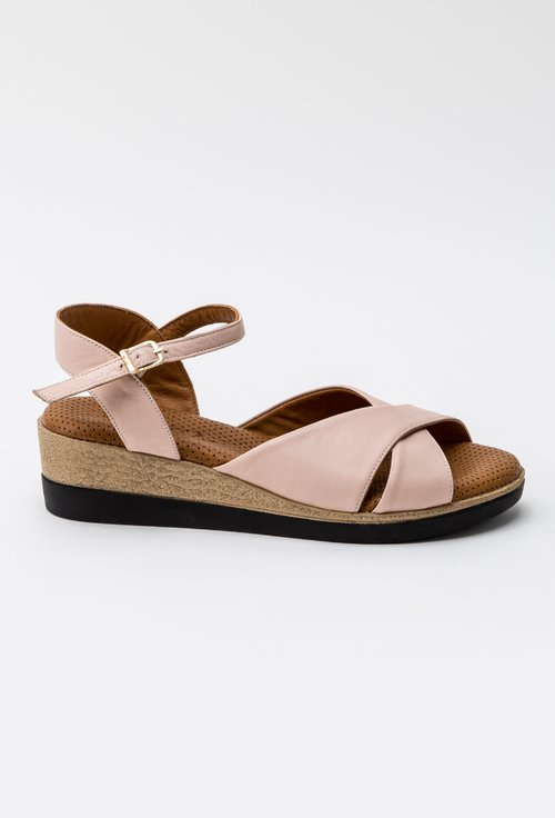 Sandale nuanta roz pal din piele naturala Iasmi