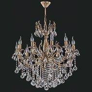Candelabru Cristal Bussy Tila 0158-52-10Z 10X40W E14