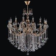 Candelabru Cristal Bussy Tila 0158-52-15Tz 15X40W E14