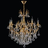 Candelabru Cristal Bussy Tila 0158-58-08Z 8X40W E14