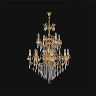 Candelabru Cristal Bussy Tila 0158-58-12 12X40W E14