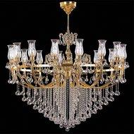 Candelabru Cristal Bussy Tila 0158-58-16F 16X40W E14