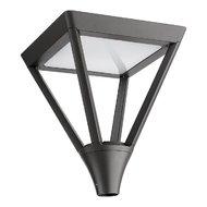 LAMPA STRADALA LED XTOWN  PATRAT 1X45W IP65 3000K GRI INCHIS IP65 ARELUX