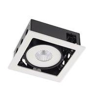 SPOT LED XSIDE INCASTRAT 1X7W 3000K ALB MAT IP20 SD01WW40 ALB MAT ARELUX