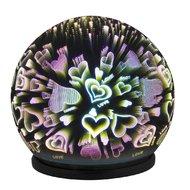 Veioza Rabalux Laila 4551 decorative oglinda  LED 0,3W 50lm 6500K IP20