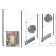 Rigla pentru zidarie - 2.20-3.30 m