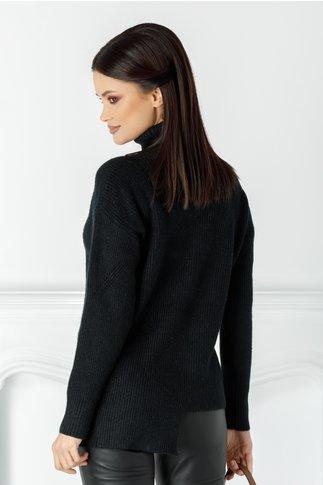 Bluza Accola neagra asimetrica