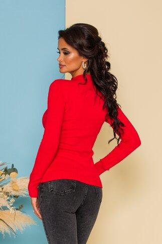 Bluza Ioana tricotata rosie