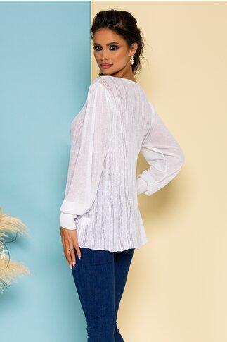 Bluza Maria tricotata alba