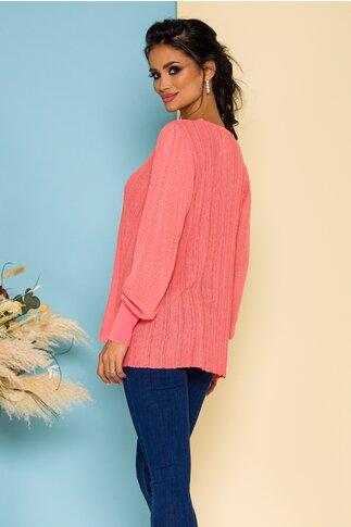 Bluza Maria tricotata corai