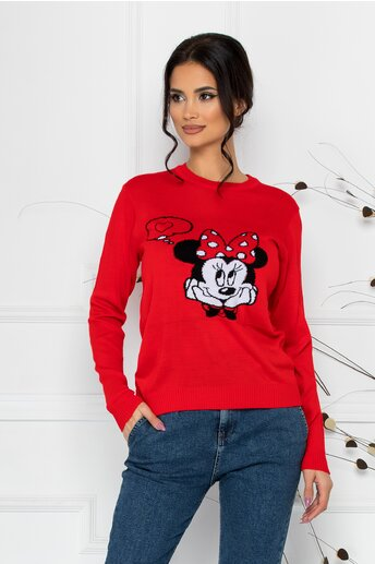 Bluza Minnie in Love rosie