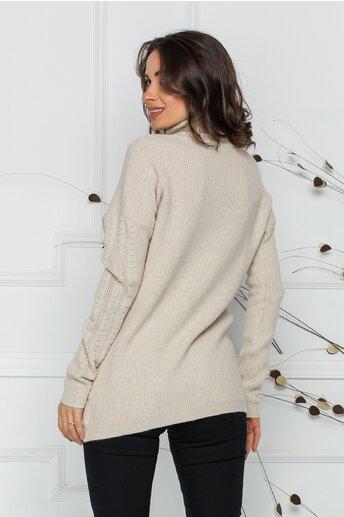 Bluza Ramona ivory deschis din tricot