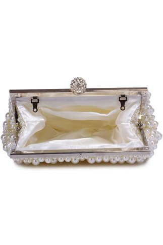 Clutch Melia Ivory Din Perle