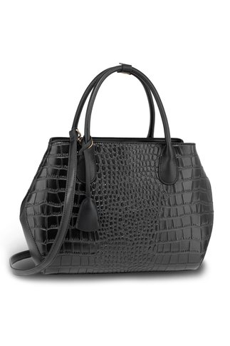 Geanta Croc Style neagra