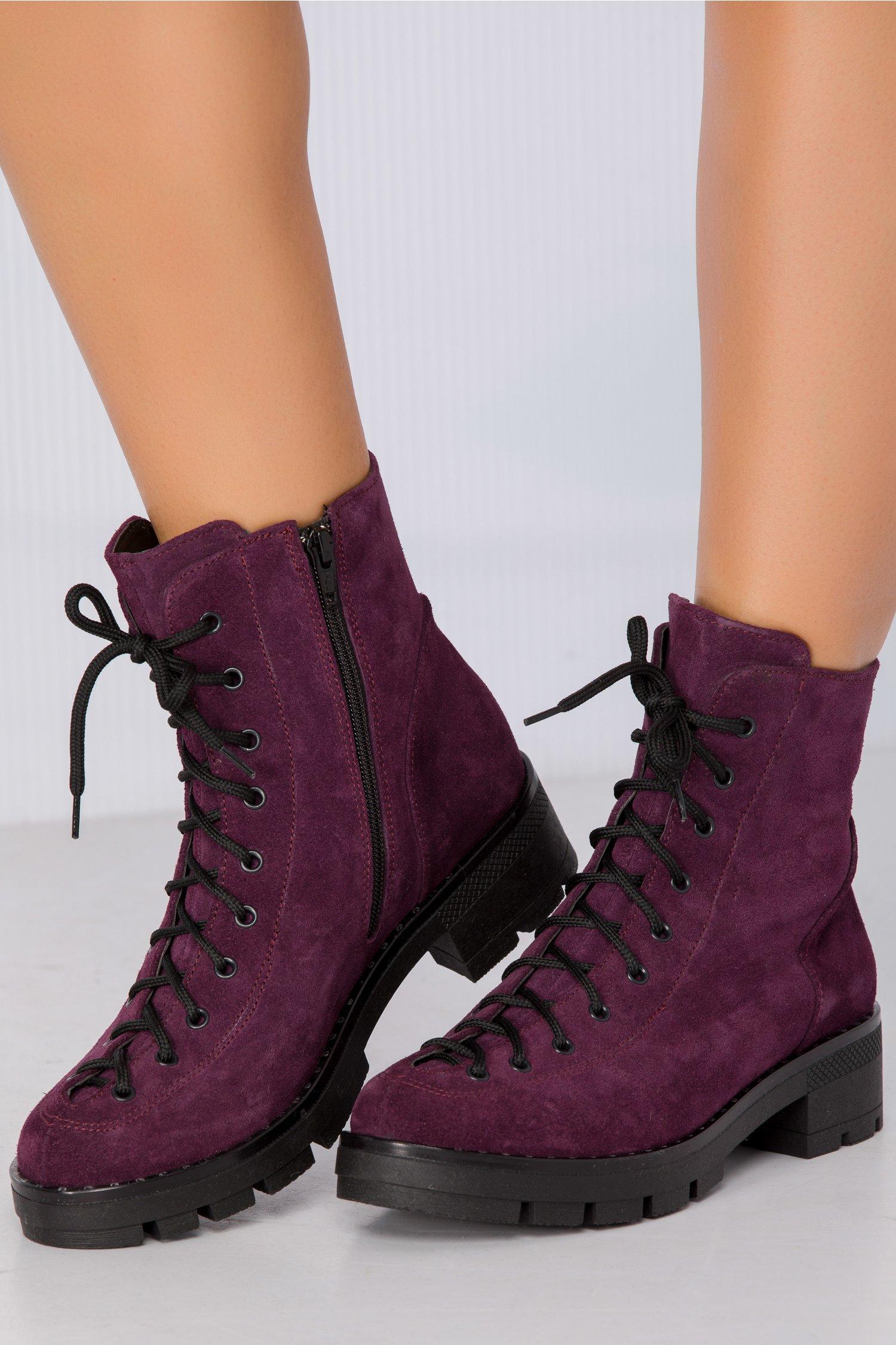 Ghete Lacy violet imblanite