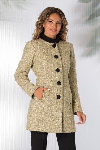 Palton Ginette elegant bej