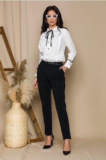 Pantaloni Alexandra negri office