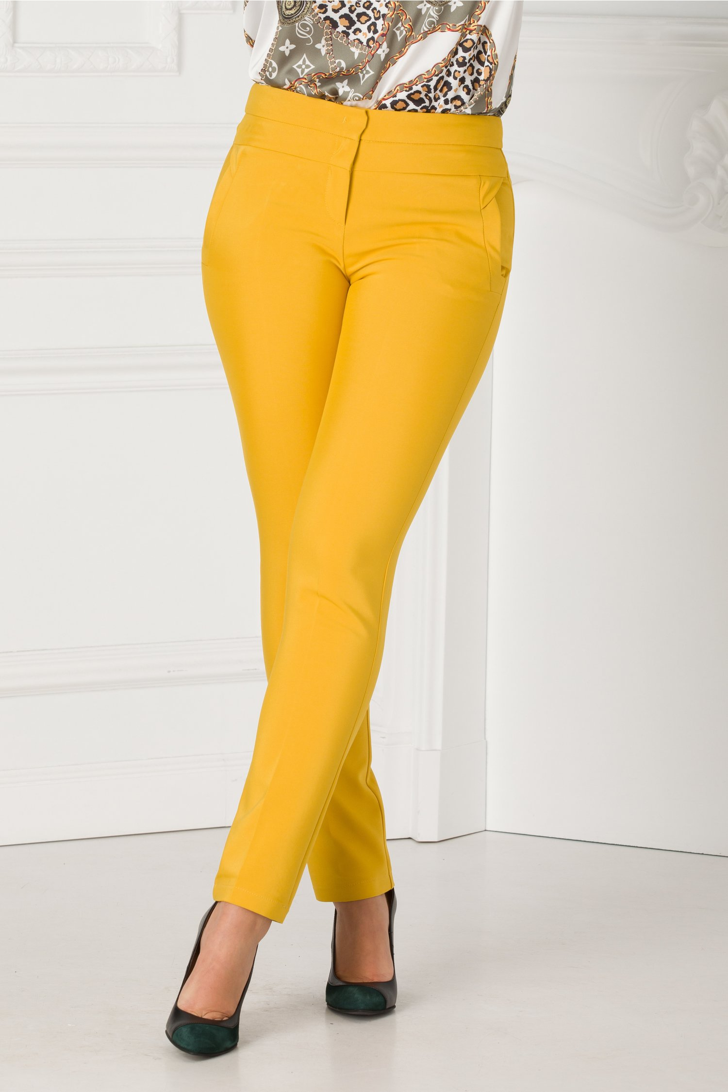 Pantaloni Alicia office drepti