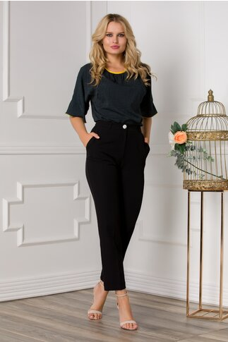 Pantaloni Camelia negri office