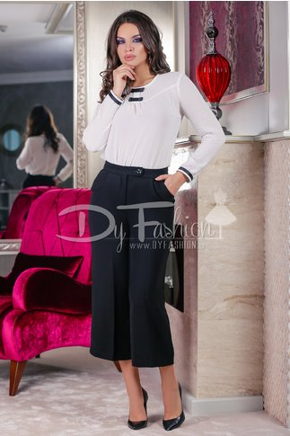 Pantaloni Different Black