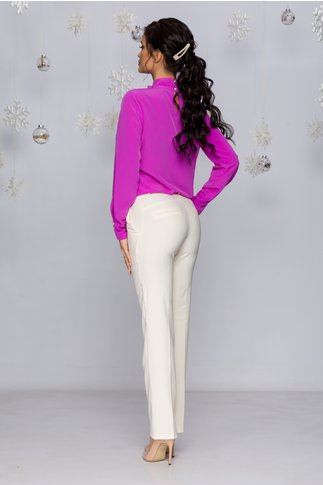 Pantaloni LaDonna ivory office