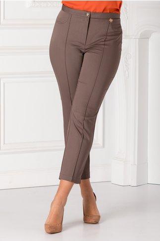 Pantaloni office gri