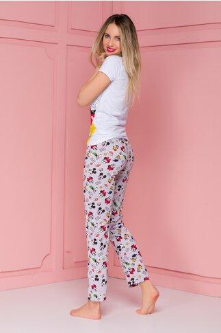 Pijama cu imprimeu Disney