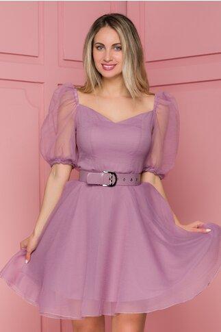 Rochie Bia lila de ocazie
