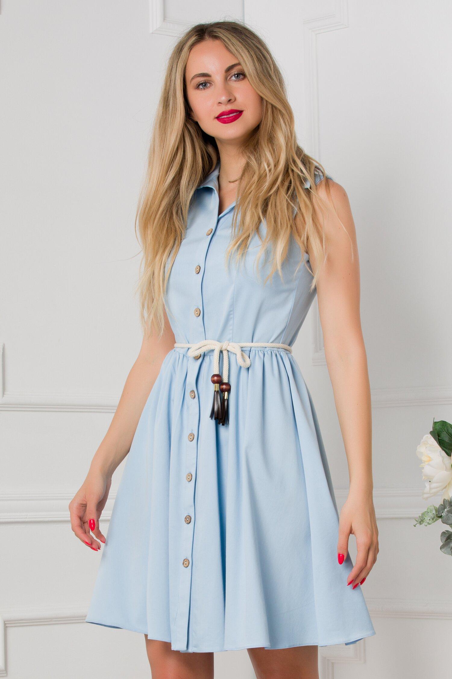 rochie dariana bleu 533487 4
