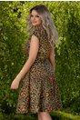 Rochie Emilia cu imprimeu multicolor