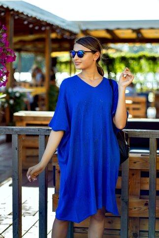 Rochie Gania albastra lejera