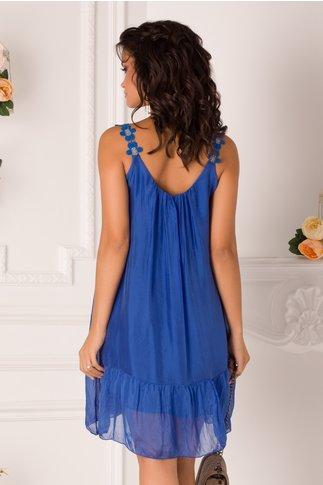 Rochie June de vara albastra