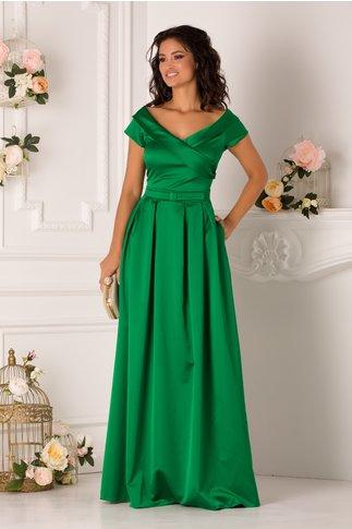 Rochie LaDonna lunga verde de ocazie