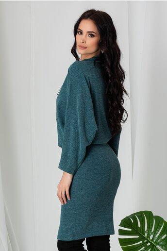 Rochie Madalina verde casual