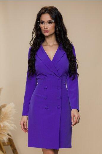 Rochie Moze violet tip sacou