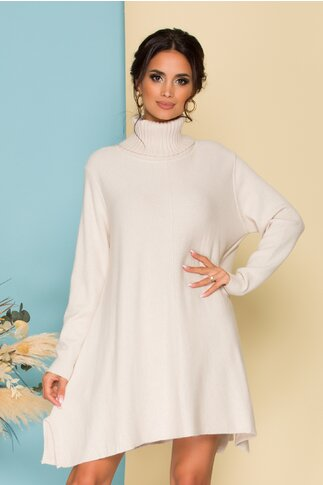 Rochie Nikky ivory lejera din tricot