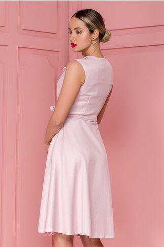 Rochie Sienna roz petrecuta