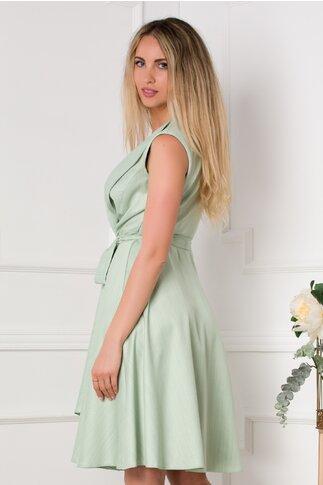 Rochie Sienna verde pal petrecuta