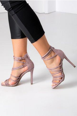 Sandale Anny lila elegante