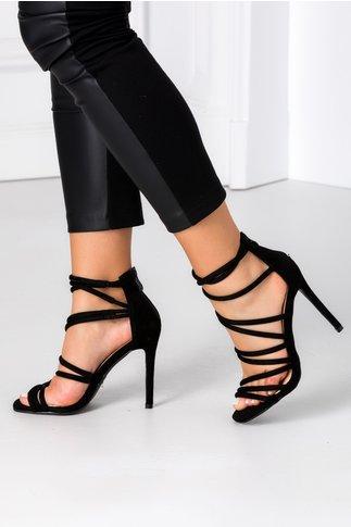 Sandale Anny negre elegante