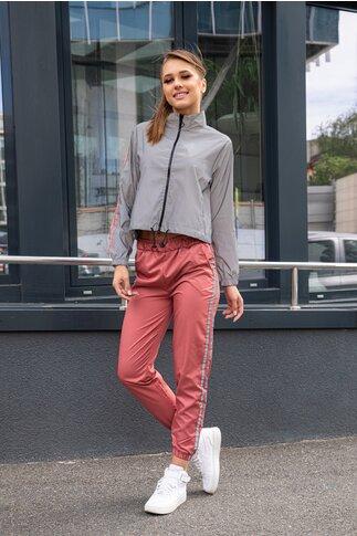 Trening Belle gri cu pantaloni roz