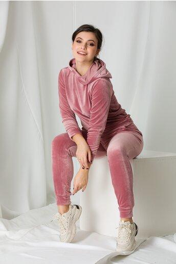Trening Berna roz din catifea
