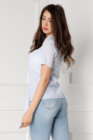 Tricou LaDonna bleu cu dungi